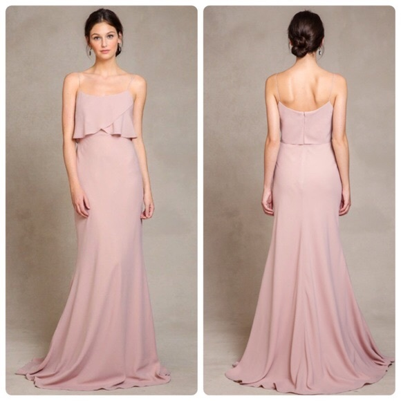 6d094d91d36 Jenny Yoo Dresses   Skirts - Jenny Yoo Blush Pink Spaghetti Strap Dress ...
